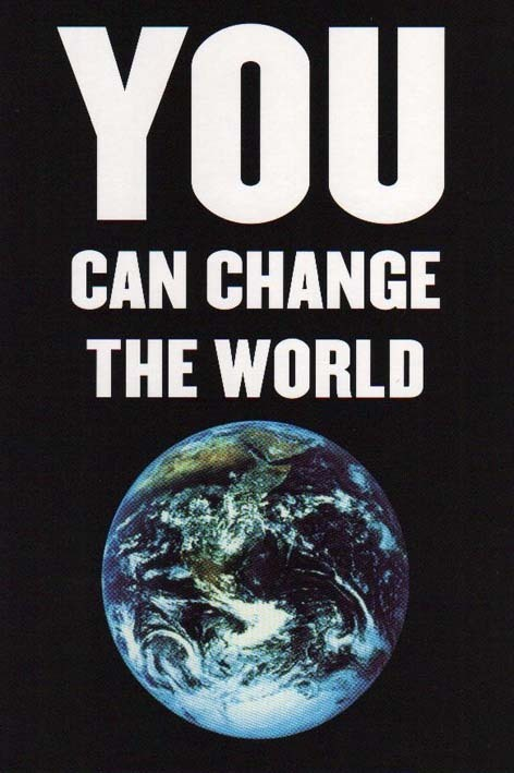 essay about change and the world changes for you