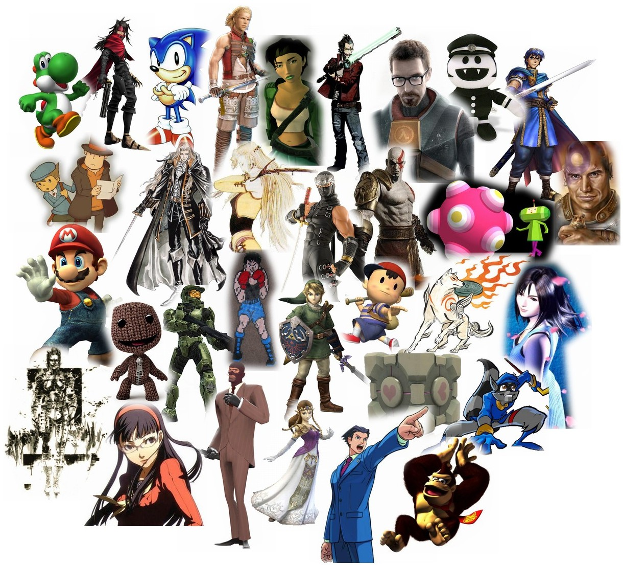 Best Video Game Characters Pictures to Pin on Pinterest ...